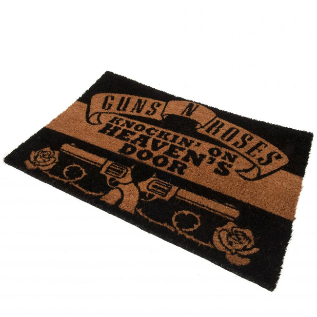 Black - Back - Guns N Roses Doormat