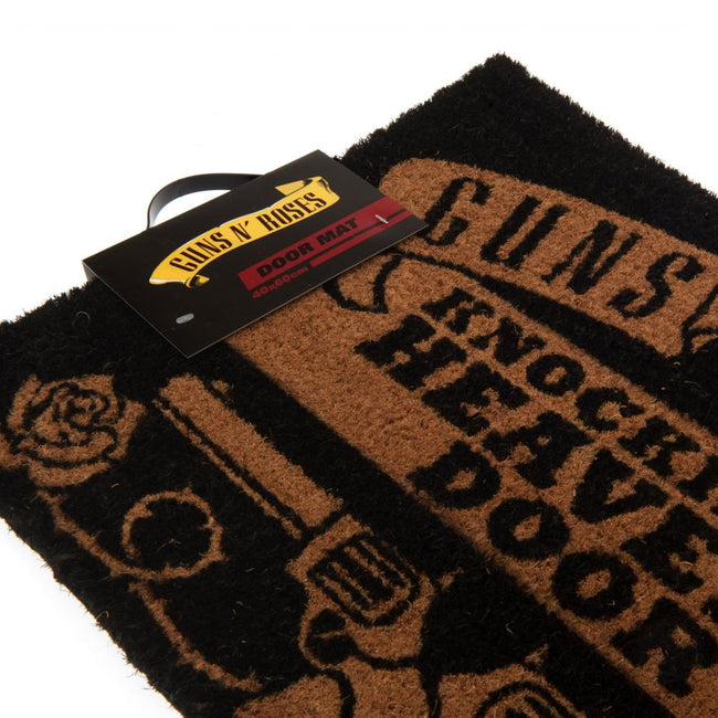 Black - Side - Guns N Roses Doormat