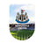 Multicoloured - Front - Newcastle United FC Large 3D Sticker
