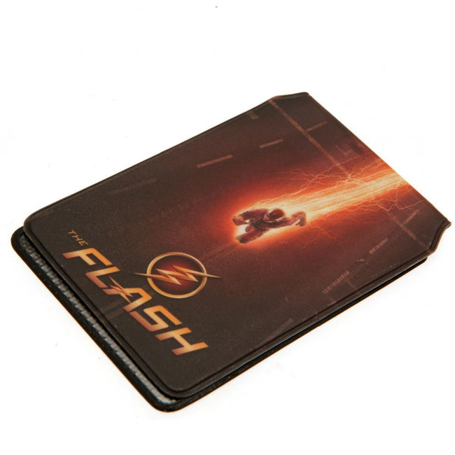 Brown-Red - Side - The Flash Card Holder