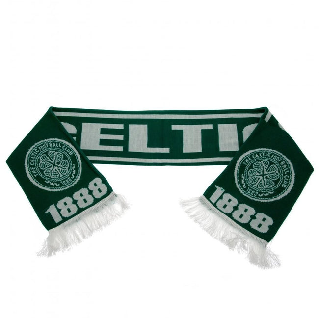 Green-White - Side - Celtic FC Scarf