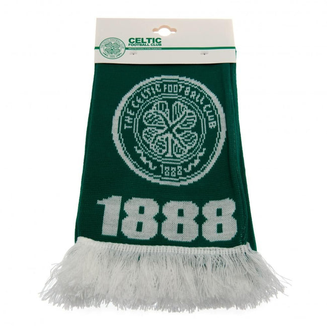 Green-White - Front - Celtic FC Scarf