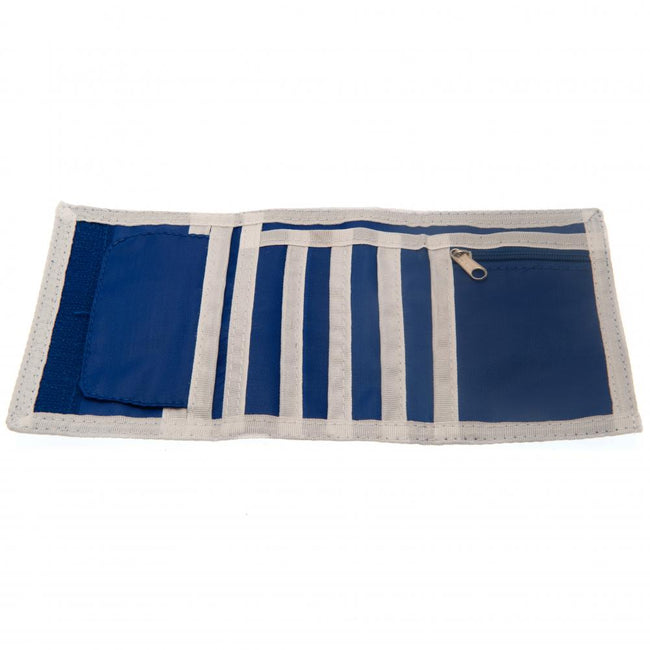 Blue-White - Back - Chelsea FC Nylon Wallet