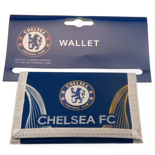 Blue-White - Side - Chelsea FC Nylon Wallet