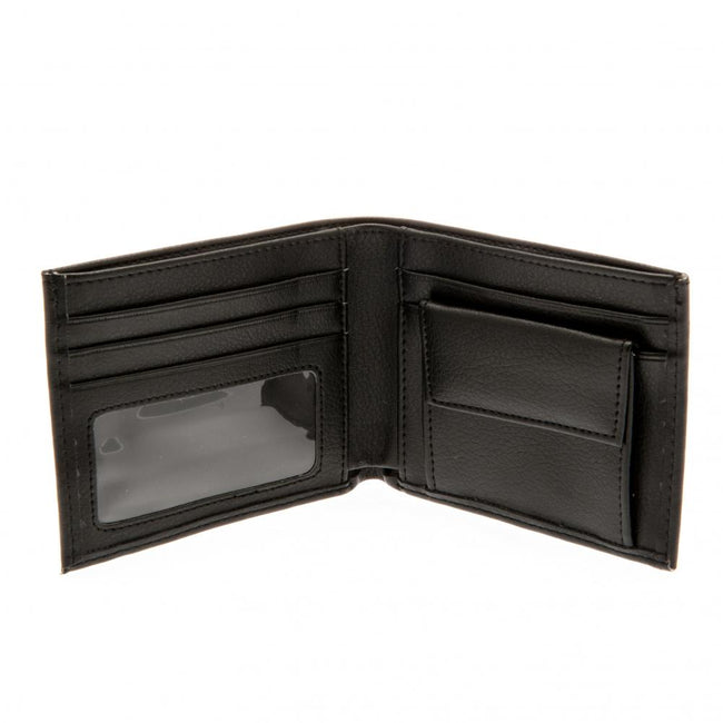 Black - Back - Chelsea FC Embroidered Wallet