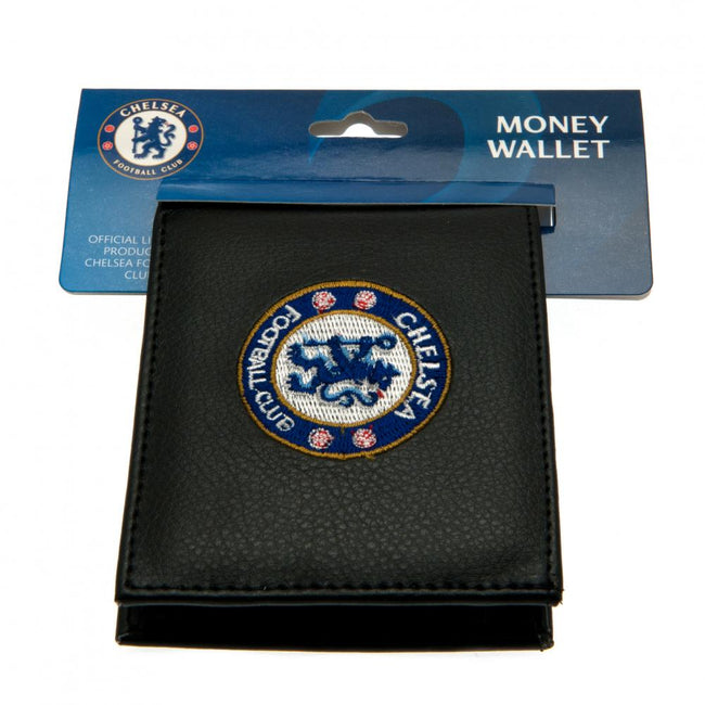 Black - Lifestyle - Chelsea FC Embroidered Wallet