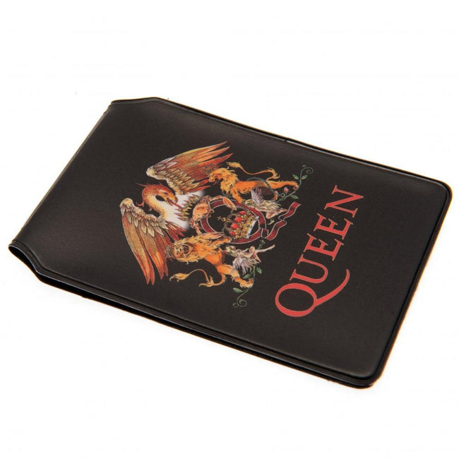 Black - Front - Queen Card Holder
