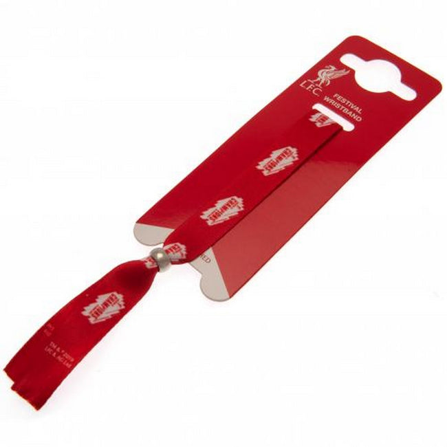Red - Back - Liverpool FC Champions Of Europe Festival Wristband