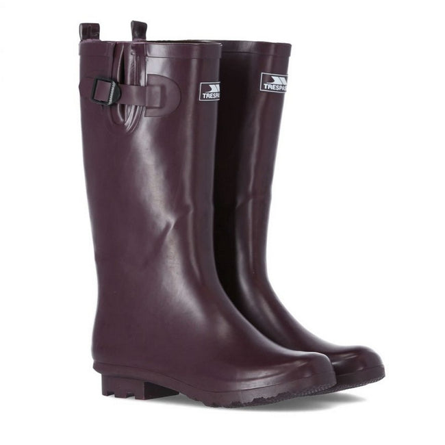 Shiraz - Pack Shot - Trespass Womens-Ladies Damon Waterproof Wellington Boots