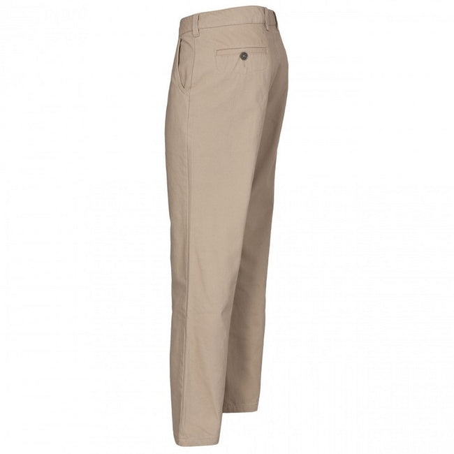 Almond - Back - Trespass Womens-Ladies Makena Casual Trousers