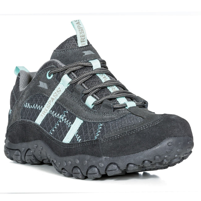 Iron - Front - Trespass Womens-Ladies Fell Lightweight Walking Shoes
