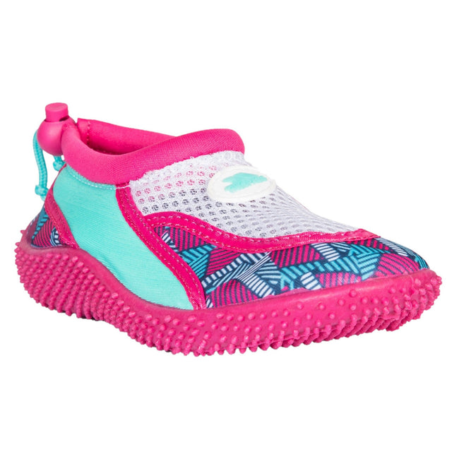 Pink Lady Print - Front - Trespass Childrens Girls Squidette Aqua Shoes