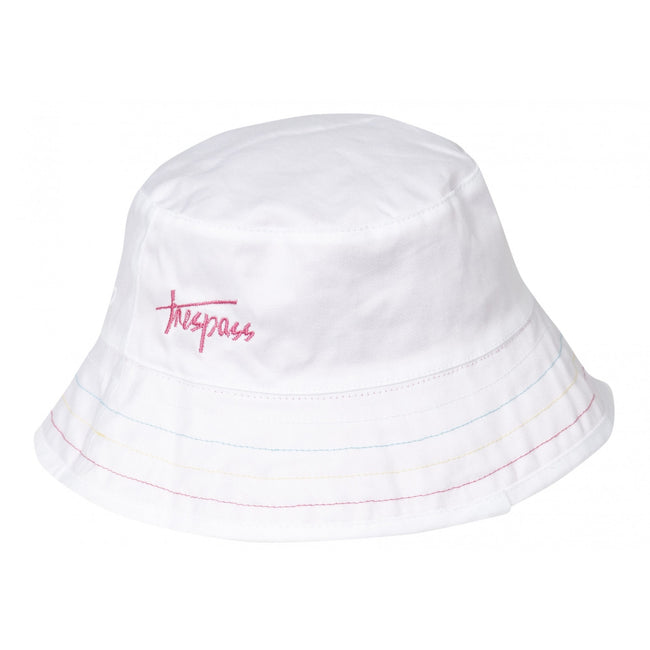 Pink - Front - Trespass Seashore Reversible Summer Hat