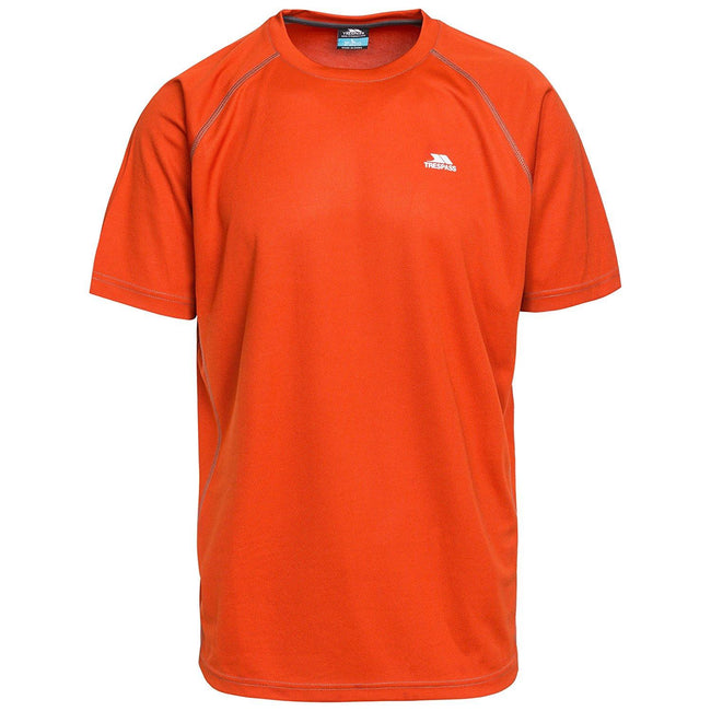 Bright Blue - Front - Trespass Mens Debase Short Sleeve Active T-Shirt