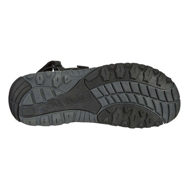 Black - Lifestyle - Trespass Mens Alderley Active Sandals