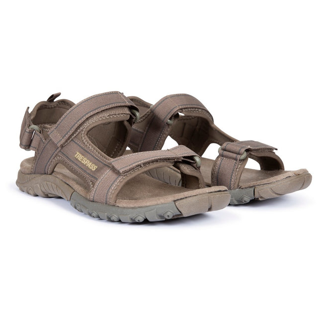 Brindle - Back - Trespass Mens Alderley Active Sandals