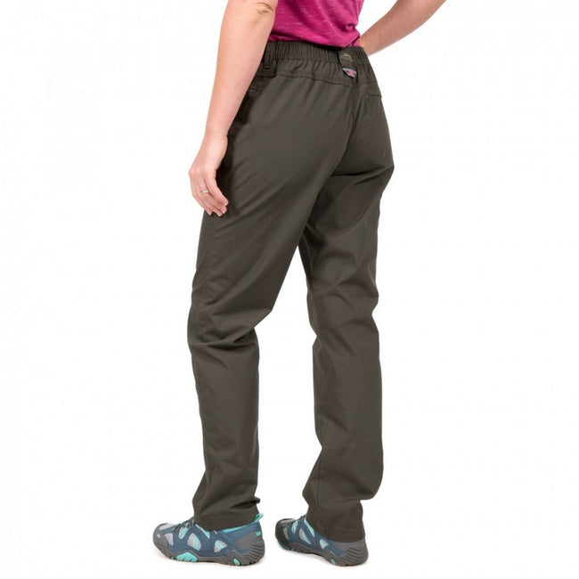 Carbon - Side - Trespass Womens-Ladies Rambler Water Repellent Outdoor Trousers
