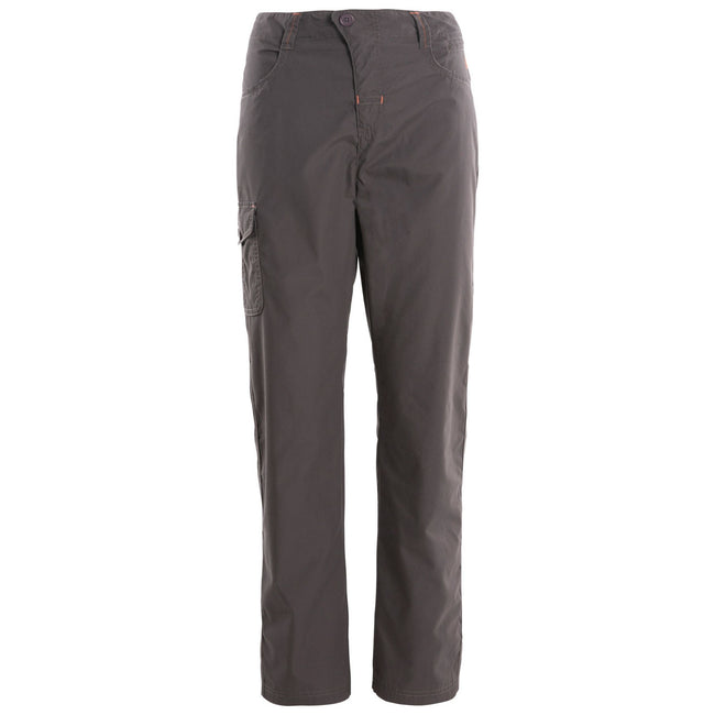 Carbon - Pack Shot - Trespass Womens-Ladies Rambler Water Repellent Outdoor Trousers