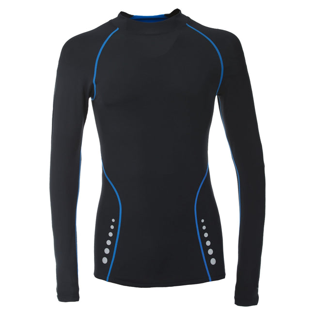 Black - Front - Trespass Mens Brawn Base Layer Compression Top