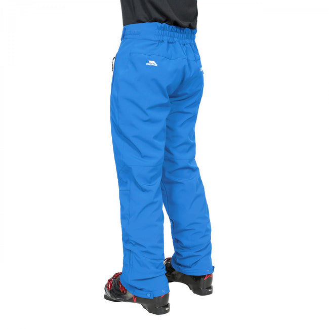 Flame - Front - Trespass Mens Westend Stretch Waterproof Ski Trousers