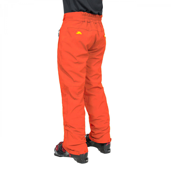 Navy - Back - Trespass Mens Westend Stretch Waterproof Ski Trousers