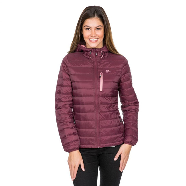 Cassis - Side - Trespass Womens-Ladies Arabel Down Jacket