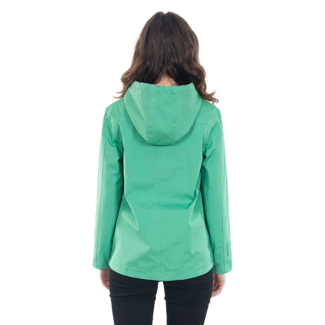 Clover - Side - Trespass Womens-Ladies Seawater Waterproof Jacket