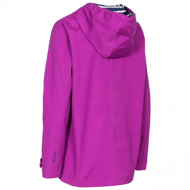 Vibrant Blue - Front - Trespass Womens-Ladies Seawater Waterproof Jacket