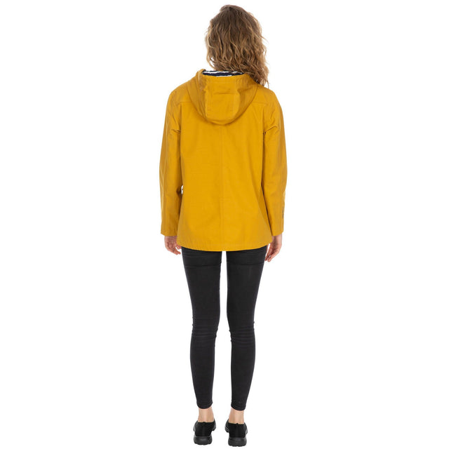 Maize Yellow - Lifestyle - Trespass Womens-Ladies Seawater Waterproof Jacket