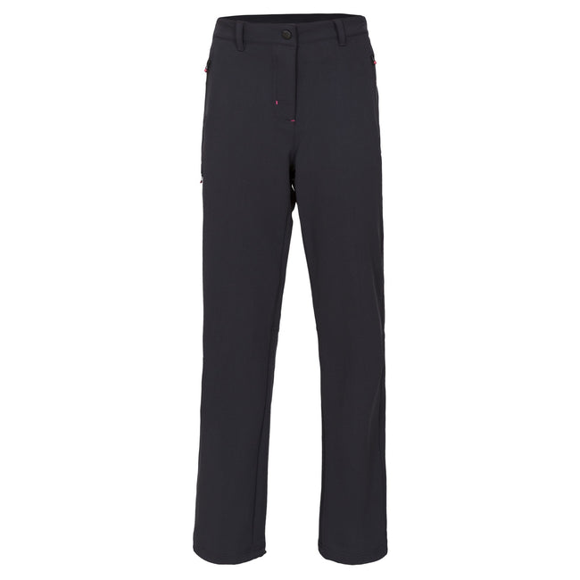 Black - Front - Trespass Womens-Ladies Swerve Outdoor Trousers