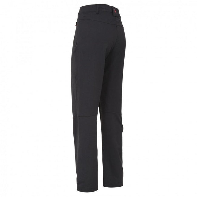 Black - Back - Trespass Womens-Ladies Swerve Outdoor Trousers