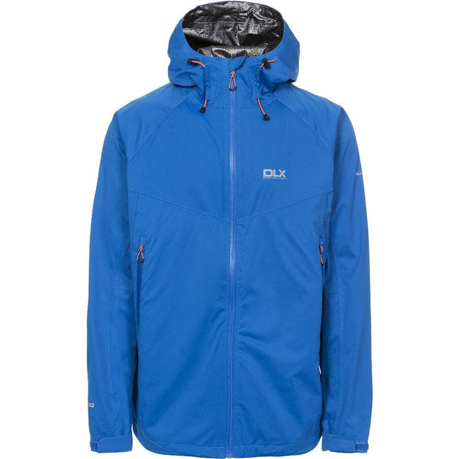Blue - Front - Trespass Mens Edmont II DLX Waterproof Jacket