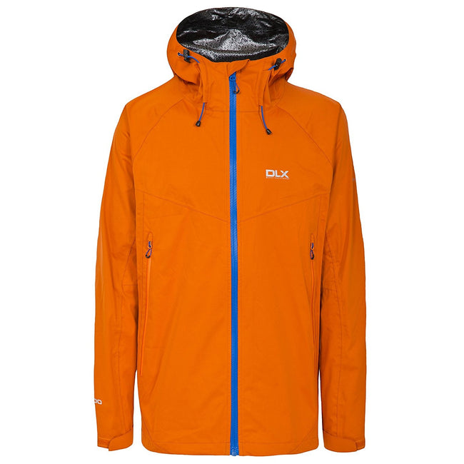 Sunrise - Front - Trespass Mens Edmont II DLX Waterproof Jacket