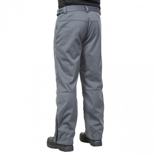 Navy - Front - Trespass Mens Holloway Waterproof DLX Trousers