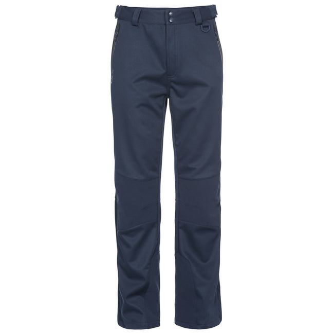 Navy - Back - Trespass Mens Holloway Waterproof DLX Trousers