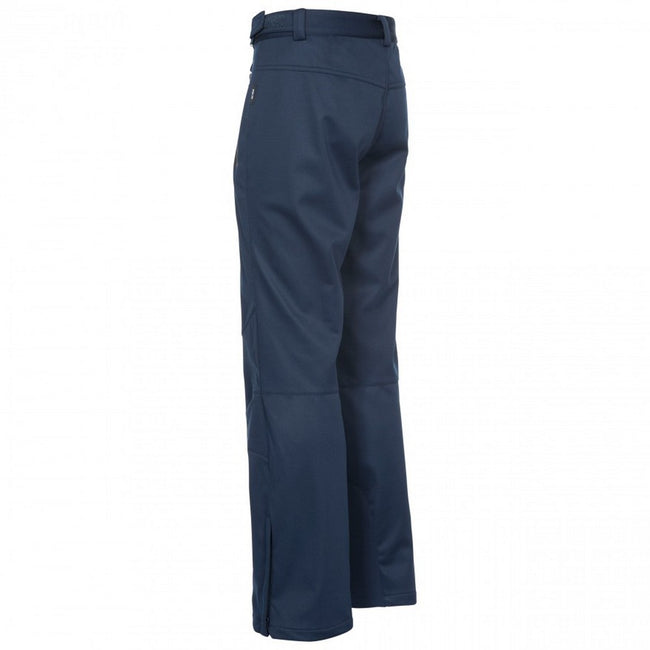 Khaki - Front - Trespass Mens Holloway Waterproof DLX Trousers