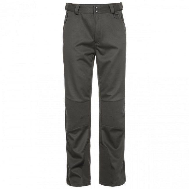 Khaki - Back - Trespass Mens Holloway Waterproof DLX Trousers