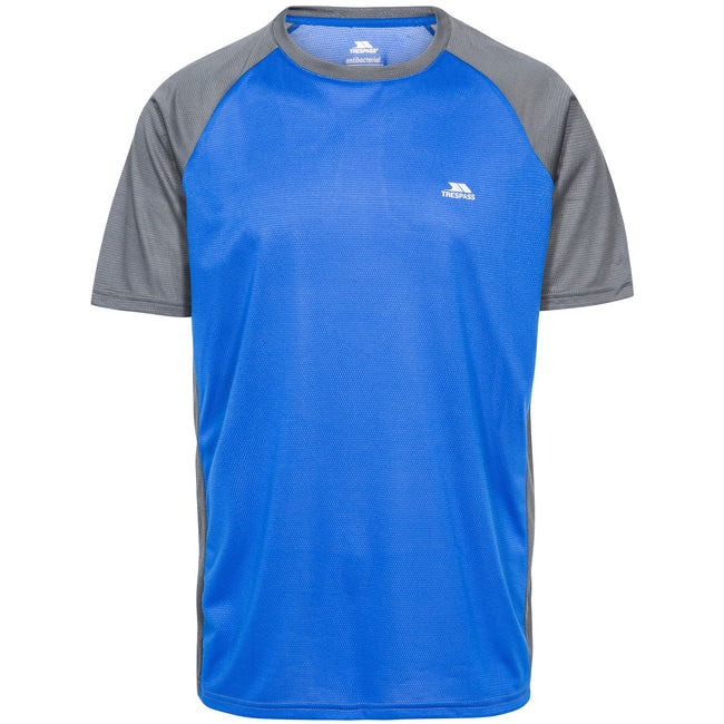 Blue Carbon - Front - Trespass Mens Talca Active T-Shirt