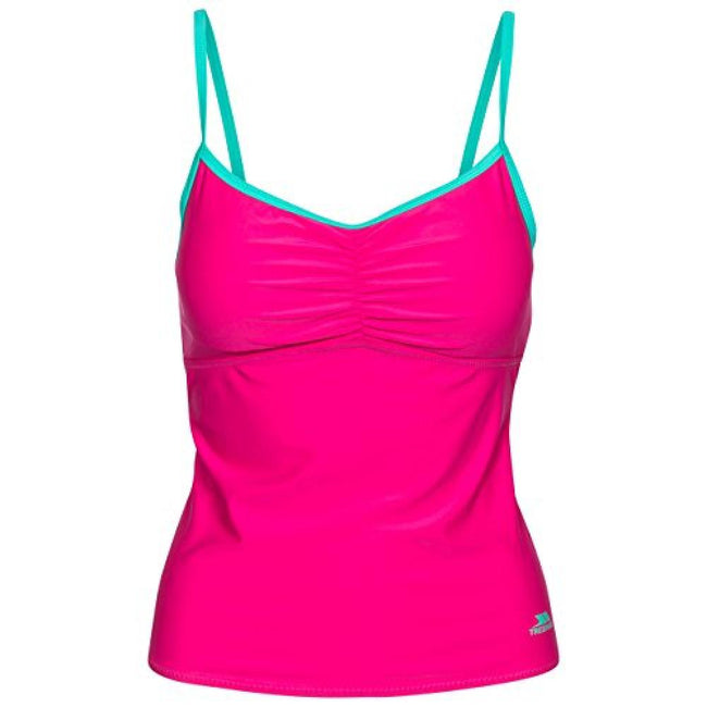 Pink Lady - Front - Trespass Womens-Ladies Darcie Tankini Top