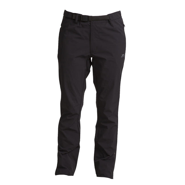 Black - Front - Trespass Womens-Ladies Stormlight Hiking Trousers