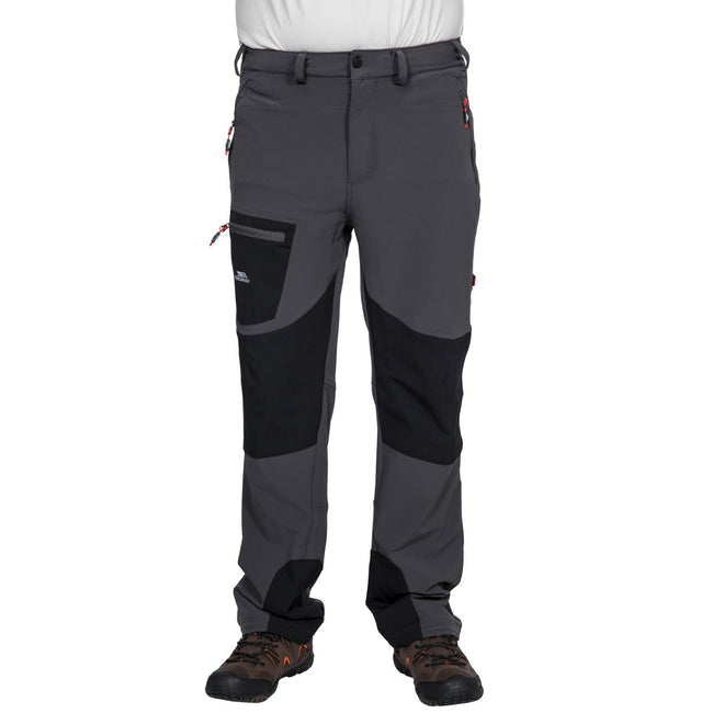 Black - Front - Trespass Mens Passcode Hiking Trousers