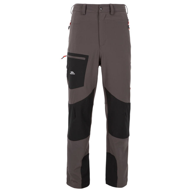 Peat - Front - Trespass Mens Passcode Hiking Trousers