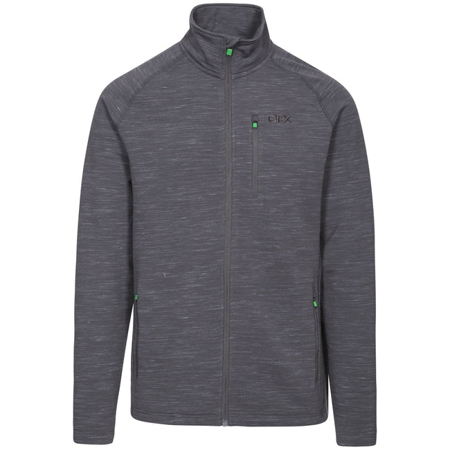 Grey Marl - Front - Trespass Mens Brolin DLX Fleece Jacket