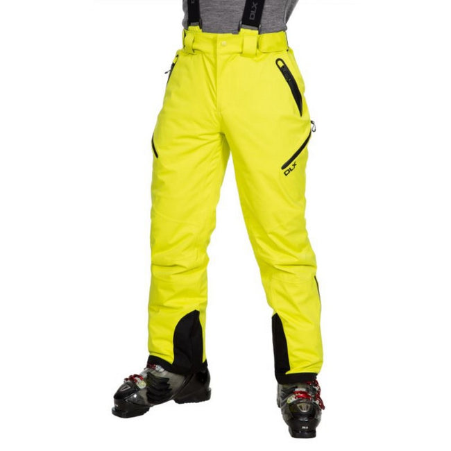 Limeade - Front - Trespass Mens Kristoff Stretch Ski Trousers