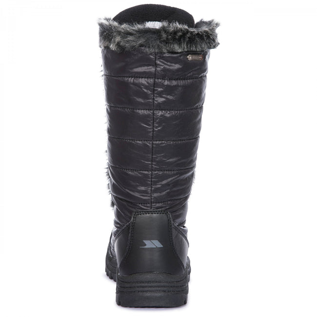 Black - Side - Trespass Womens-Ladies Coretta Snowboots