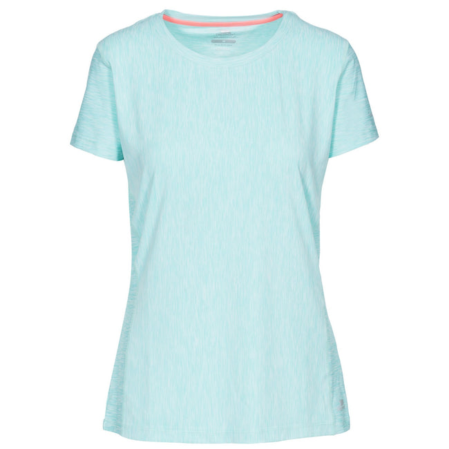Platinum - Back - Trespass Womens-Ladies Newby Active T-Shirt