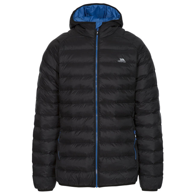 Black - Front - Trespass Mens Bosten Casual Padded Jacket