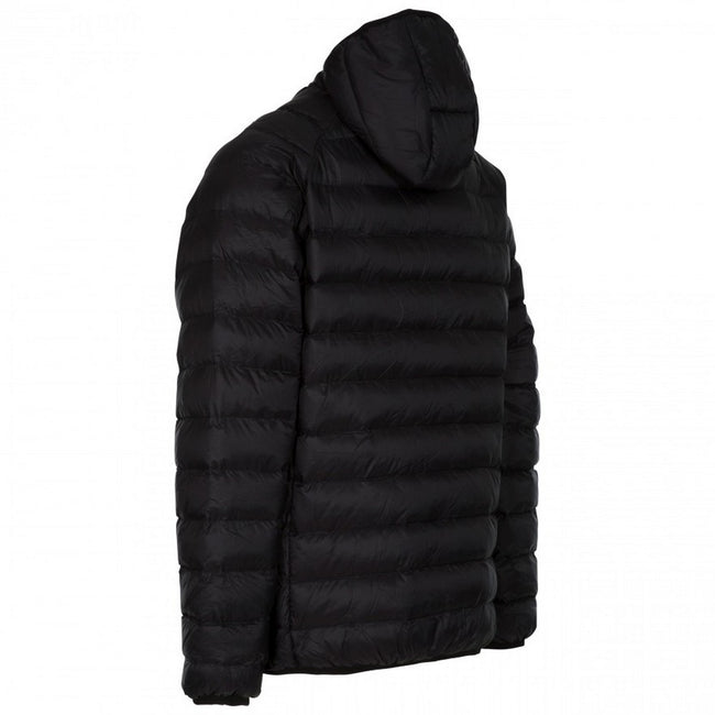 Black - Back - Trespass Mens Bosten Casual Padded Jacket