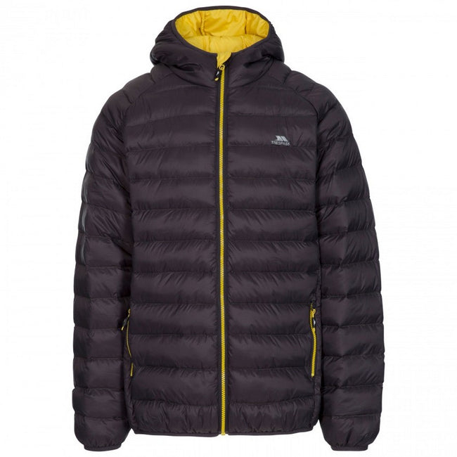 Dark Grey - Front - Trespass Mens Bosten Casual Padded Jacket