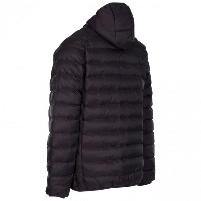 Dark Grey - Back - Trespass Mens Bosten Casual Padded Jacket